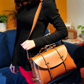 2013 women's handbag fashion vintage preppy style handbag one shoulder cross-body bags female briefcase