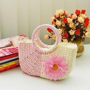 2013 new colorful Straw bag shoulder bags handbag  straw bag