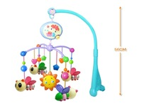 Package mail new baby bed lathe bell hanging toys baby bee/pony bedside electric music 0-1 year old