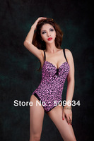 2013 new! summer swimwear for women swimsuit push-up bra one-piece bathing suit  plus-size swimsuit Free shipping
