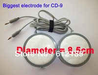 Free shipping Big electrode for CD-9 acupncture therapy machine digital tens machine 8.5cm