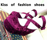 Fashion jay2013 spring and summer new arrival lena u.s. foot sweet vintage velvet liner genuine leather platform shoes 3