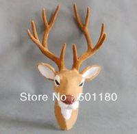 free shipping wall-mounted deer head wall deer head craft