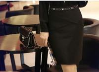 Women Formal A Line Peplum Skirt OL Career Office Work Wear slim Fit Business Suit Skirts Size S-XXL