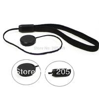 NEW Black Lens Cap Keeper Holder Cord Leash for Camera DSLR