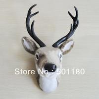 free shipping wall mounted deer head wall decoration fake deer head