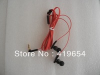 3.5mm Inear MP3 MP4 Earphone Headphone Headset With Retail Package 4 Colors 50pcs/lot Free Shipping