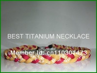 germanium titanium anion silicone fashion jewelry