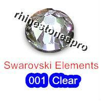 ss20 GENUINE Swarovski Elements Crystal Clear ( 001 ) 144pcs ( NO hotfix Rhinestones ) 2058 Gems 20ss FLATBACK Art facet Crystal