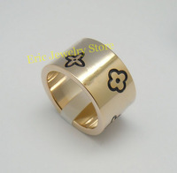 Free Shipping Fashion Rings Famous Brand Jewelry Logo Printed High Qulity Original(Dust Bag ,Gift Box) #LOR04