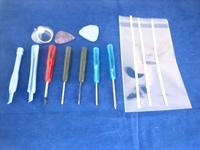 Mobile Phone Repair Opening Tool Set Kit ~ Cross+Torx+Star Screwdriver+Adhesive
