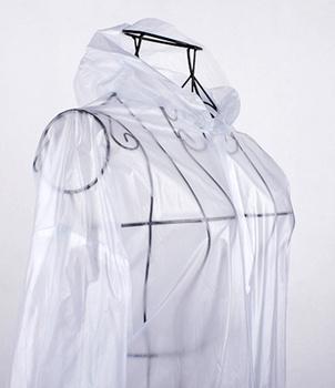 Transparent sand raincoat fashion male women's 2013 women's breathable poncho single multifunctional
