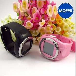 HOT MQ998 Unlocked GSM Mobile Watch Phone Touch Screen MP3(China (Mainland))
