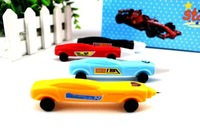 2013 new.Novelty Racing car pens child pens.office and study   pens child pens.ballpoint pens child pen.  Antiqu..hot sale