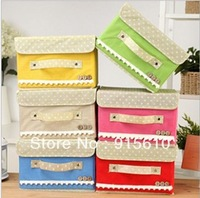 [Amy]free shipping Practical household storage bins high quality on Amy shop Large size:38*25*25cm