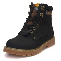 2013 Hot sale New style Fashion men's genuine leather outdoor boots Worker boots  009-136-003