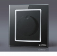 Dimmer switch,wall switch,Tempered glass panel,86