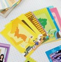 2013 new.    gift polaroid po frame sticker- travel . 10 pcs.set note deco label .  .hot sale