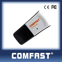 usb wifi adapter USB 2.0 150M WiFi Wireless Lan Network Card Adapter Networking Device Free Drop Shipping Comfast CF-WU720N