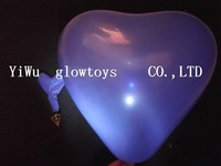 Free Shipping, Led Light Flashing Balloons, Chinese Conventional Festival Balloons, Wedding Decoration, 5 Colour