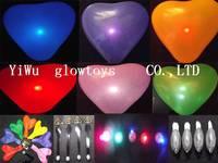 Led colorful light emitting lighting balloon luminous flash show props wishing lamp balloons ballon party lights
