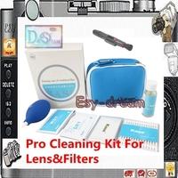 Pro Genuine Lens & Camera Cleaner Cleaning Kit 7 in 1 7in1 include Blower Cloth Swab Lenspen Wipe PA074