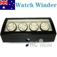 ALG Luxury 8 Automatic Watch Winder Display Case Box