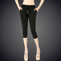 2013 female capris casual harem pants elastic waist women's female trousers