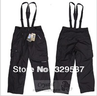 Free shipping 2015 New brand Men's Outdoor Trousers detachable waterproof breathable warm ski pants climbing pants