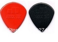 Wholesale -72 piece Guitar Picks Jazz III picks black Guitar Picks TOP SELLER freecase from china free shipping A456