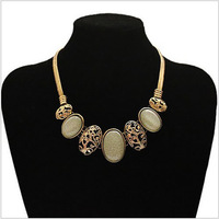 free shipping lots wholesale of fashion necklace jewelry, unique beautiful vintage retro design costume party statement necklace