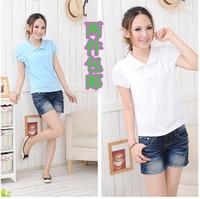 the new 2013 Hot-selling summer nursing clothing short-sleeve nursing loading p0l0 nursing clothes fashion 2  wholesales