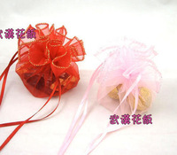 free shipping 100pcs Candy bags bag candy box 26 yarn bags festive supplies