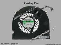 "New laptop cooling fan for apple mac pro air 17"" FAN (SUNON: MG45070V1-Q010-S99)"
