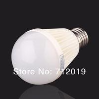 Free Shipping 9W LED Bulb Bubble Ball High Power E27 E14 B22 2835 SMD 40LED Lamp Light,AC85-265V,Cool/Warm White