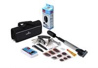 Free shipping Bike Bicycle Tyre Repair Multifunctional Tool Set Kit with mini portable Pump ,1Set/Lot
