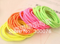 fluorescent color super Elastic Hair circle Hairband hair band hair ring
