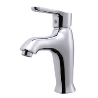Copper hot and cold faucet basin high quality s110003