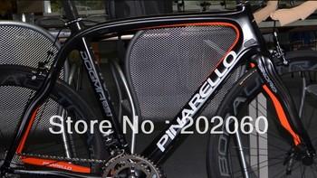 Top Sale!!! Pinarello Dogma 65.1 Think2 Orange Black 2013 Frame+Fork+Seatpost+Clamp+Headset road cycling frameset