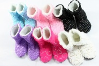 Fashion Women's Glitter Shinning Christmas Shoes,Sock Slippers,Indoor Boots/ Free Shipping A-13