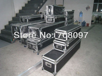 Strong Aluminum case for shipment fast fold screen big size 16:9 250'' for front projection with flightcase package