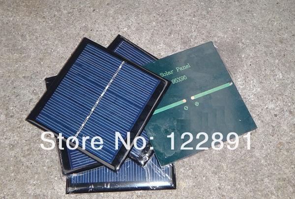 High Quality ! Mini Solar Cell 1watt 5.5 Solar Panel Solar Module Polycrystalline Cells Wholesale 20pcs/lot Free Shipping(China (Mainland))