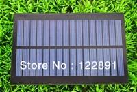 Wholesale!1W 8V Solar Cell Solar Panel Solar Module DIY Solar Charger PET Polycrystalline Solar Cell 20pcs/lot Free shipping