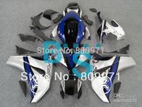 H505 White Blue Black Fairing for CBR1000RR 08 09 10 CBR-1000RR 2008-2010 CBR 1000RR 2008 2009 2010