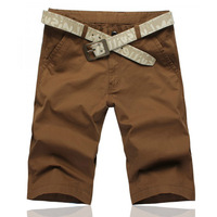 Ultra-thin 2012 spring and summer shorts knee-length pants casual all-match solid color shorts trousers