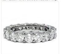 3.00CT HUGE Eternity Anniversary Wedding Ring