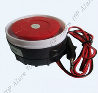 electric siren alarm horn intrusion siren burglar alarm horn mini burglar speaker baluster warning device