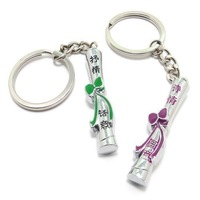 Couple key chain with the tide of male women's style keychain