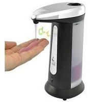 Free shipping 201 stainless steel Automatic infrared sensor soap dispenser hand sanitizer bottle automatic hand sanitizer