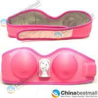 High Quality Hot Pink Sexy Enlarge Relax Massage Bra&Breast Enhancer Massager FB-9403B